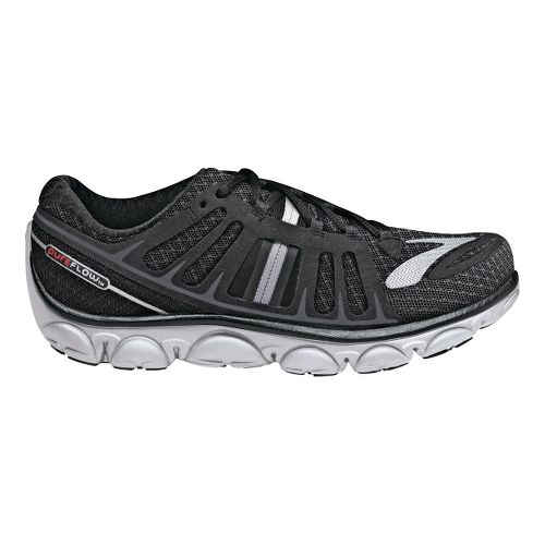 Womens Brooks PureFlow 2 Running Shoe - Black/Anthracite 7.5