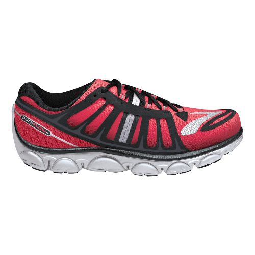 Womens Brooks PureFlow 2 Running Shoe - Pink/Black 5.5