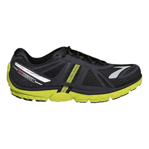 Mens Brooks PureCadence 2 Running Shoe - Black/Neon 12.5
