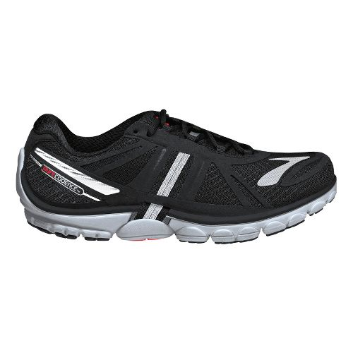 Mens Brooks PureCadence 2 Running Shoe - Black/Silver 11.5