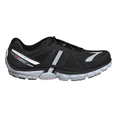 Mens Brooks PureCadence 2 Running Shoe - Black/Silver 12