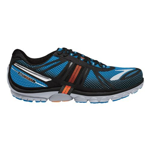 Mens Brooks PureCadence 2 Running Shoe - Electric Blue/Black 9.5