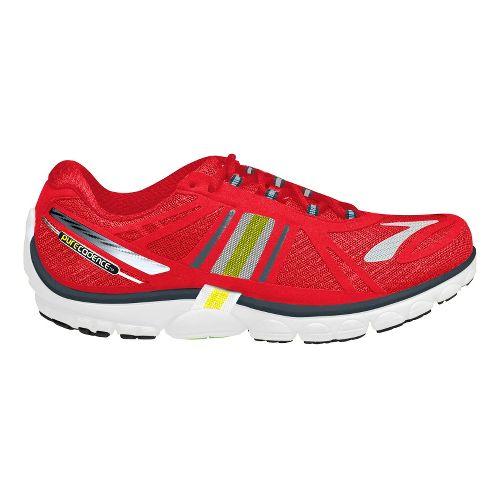 Mens Brooks PureCadence 2 Running Shoe - Red 11.5