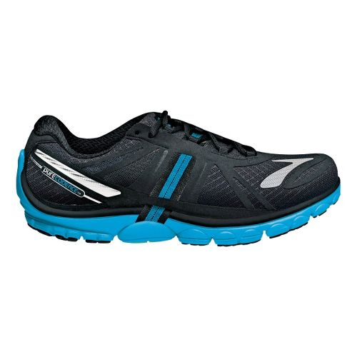 Womens Brooks PureCadence 2 Running Shoe - Anthracite/Black 10