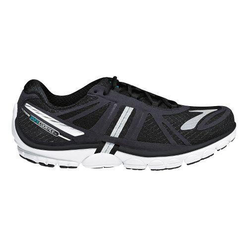 Womens Brooks PureCadence 2 Running Shoe - Black/Silver 9.5