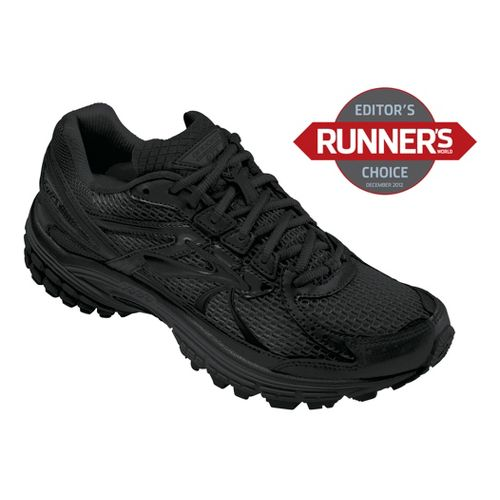 Mens Brooks Adrenaline GTS 13 Running Shoe - Black 9.5