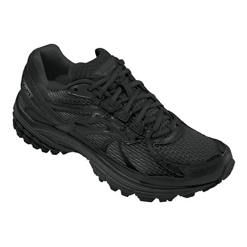 Womens Brooks Adrenaline GTS 13 Running Shoe - Black 10.5