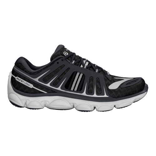 Kids Brooks PureFlow 2 Running Shoe - Black/Anthracite 11