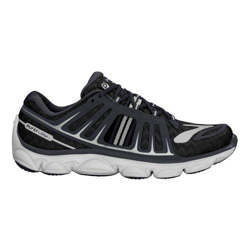 Kids Brooks PureFlow 2 Running Shoe - Black/Anthracite 11.5