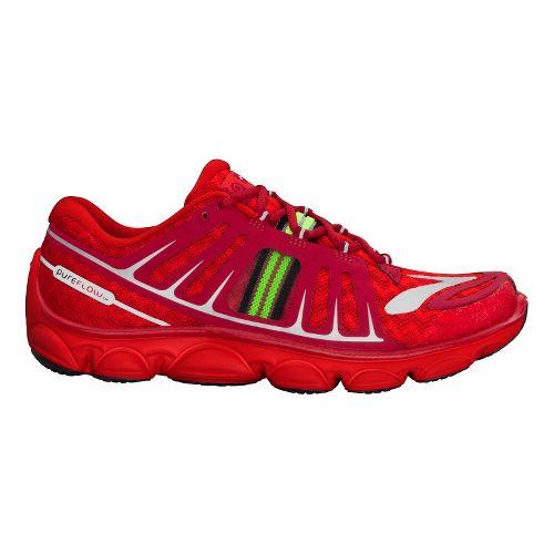 Kids Brooks PureFlow 2 Running Shoe - Red 3.5