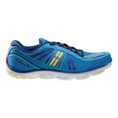 Mens Brooks PureConnect 3 Running Shoe - Blue 10.5