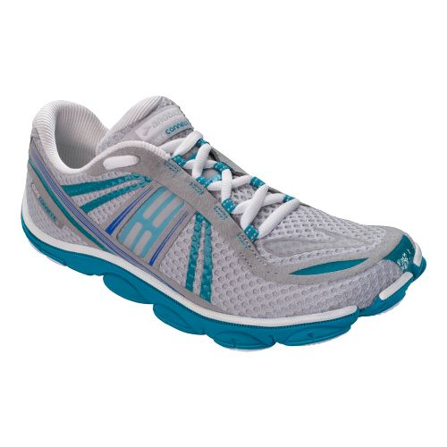 Womens Brooks PureConnect 3 Running Shoe - Micro Chip/Caribbean 12