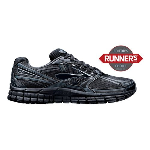 Mens Brooks Adrenaline GTS 14 Running Shoe - Black 12.5