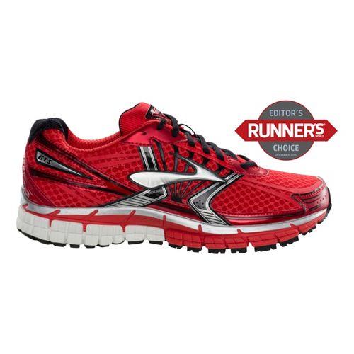 Mens Brooks Adrenaline GTS 14 Running Shoe - Red 10.5