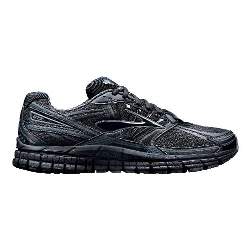 Womens Brooks Adrenaline GTS 14 Running Shoe - Black 7