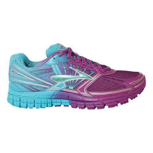 Womens Brooks Adrenaline GTS 14 Running Shoe - Ombre 8