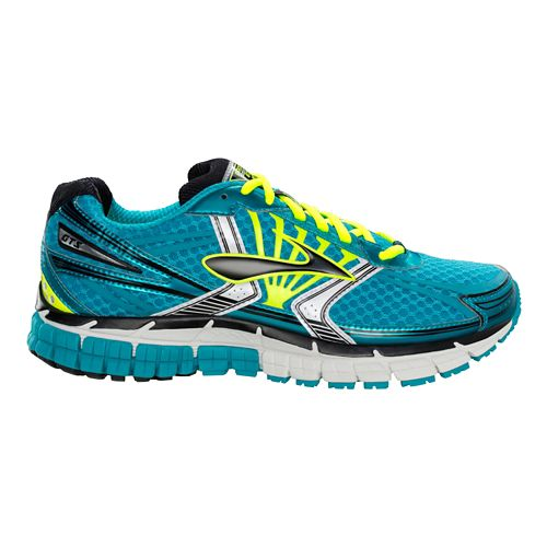 Womens Brooks Adrenaline GTS 14 Running Shoe - Teal 10.5