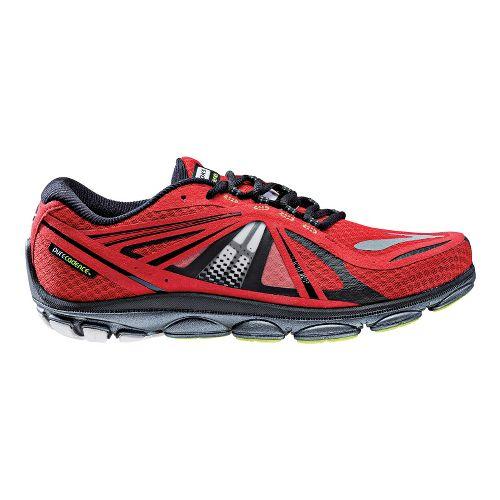 Mens Brooks PureCadence 3 Running Shoe - Red 10