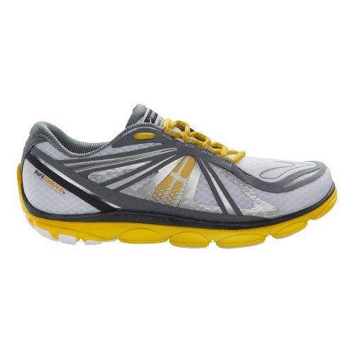 Mens Brooks PureCadence 3 Running Shoe - White/Sulphur 11