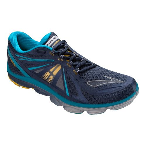 Womens Brooks PureCadence 3 Running Shoe - Midnight/Caribbean 8.5