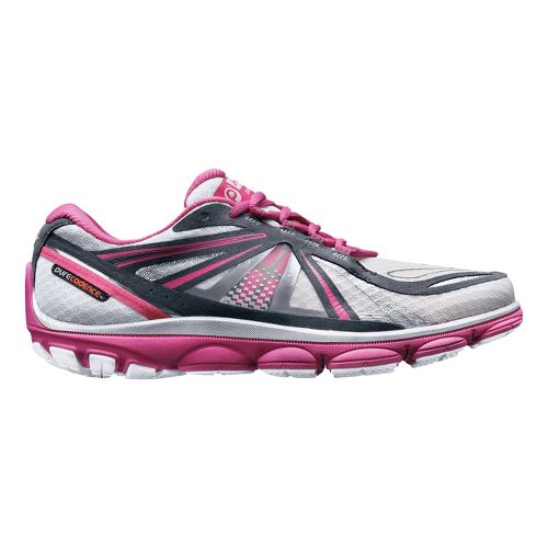 Womens Brooks PureCadence 3 Running Shoe - White/Pink 5