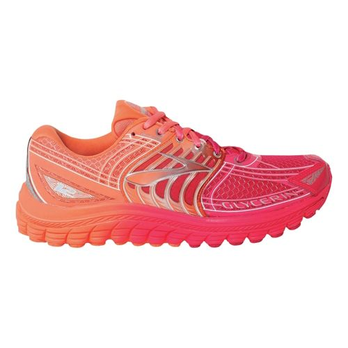 Womens Brooks Glycerin 12 Running Shoe - Ombre 8