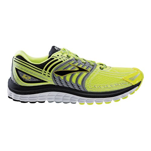 Mens Brooks Glycerin 12 Night Life Running Shoe - Neon 12.5
