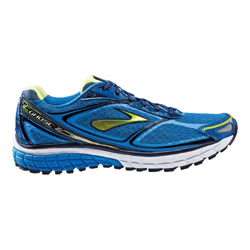 Mens Brooks Ghost 7 Running Shoe - Blue 9.5