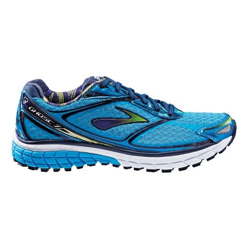 Womens Brooks Ghost 7 Running Shoe - Hawaiian Blue/Eclipse 8