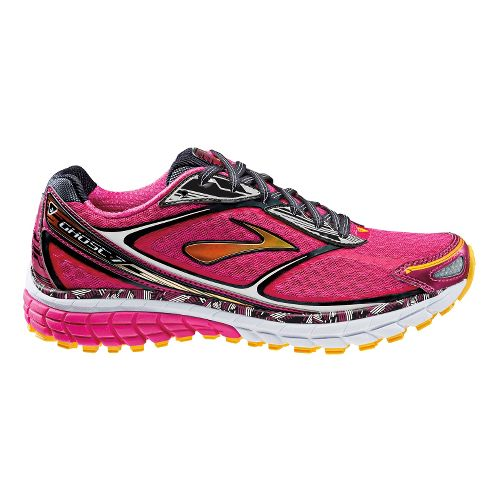 Womens Brooks Ghost 7 Running Shoe - Pink 10.5