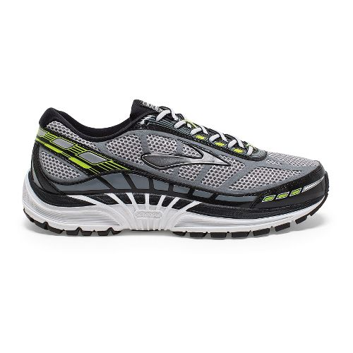 Mens Brooks Dyad 8 Running Shoe - River Rock/Nightlife 10