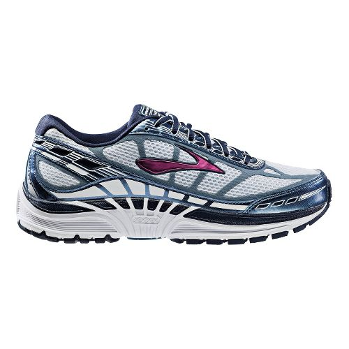 Womens Brooks Dyad 8 Running Shoe - Grey/Slate 10.5