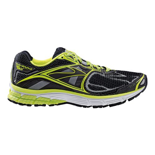 Mens Brooks Ravenna 5 Night Life Running Shoe - Neon 12