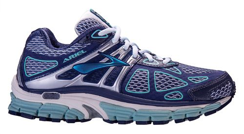 Womens Brooks Ariel 14 Running Shoe - Slate 6