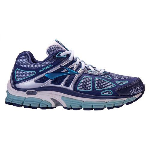 Womens Brooks Ariel 14 Running Shoe - Slate 8