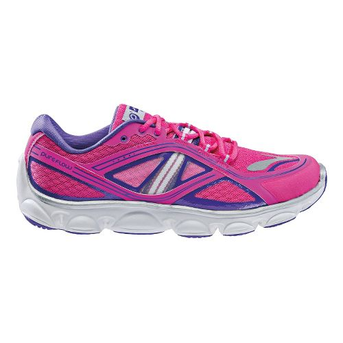 Kids Brooks PureFlow 3 Running Shoe - Pink 4.5