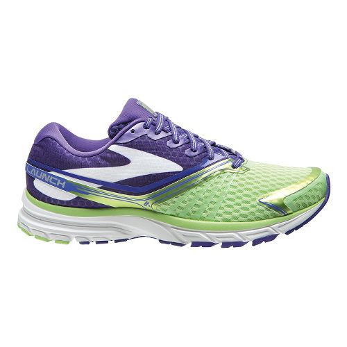 Womens Brooks Launch 2 Running Shoe - Green/Blue 8