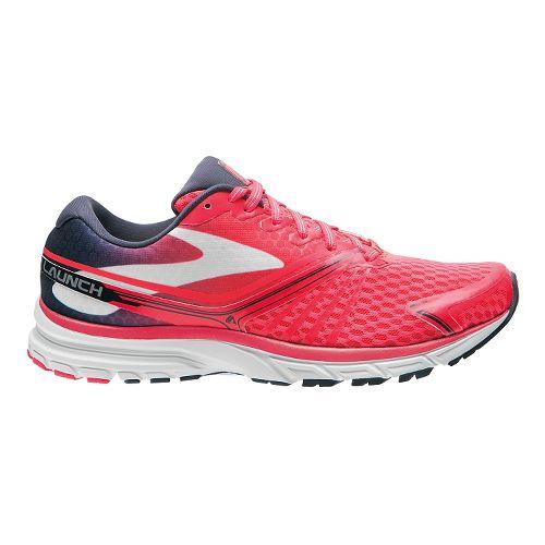 Womens Brooks Launch 2 Running Shoe - Pink/Navy 12
