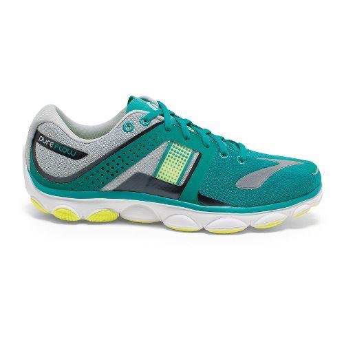 Womens Brooks PureFlow 4 Running Shoe - Lapis/High Rise 11.5