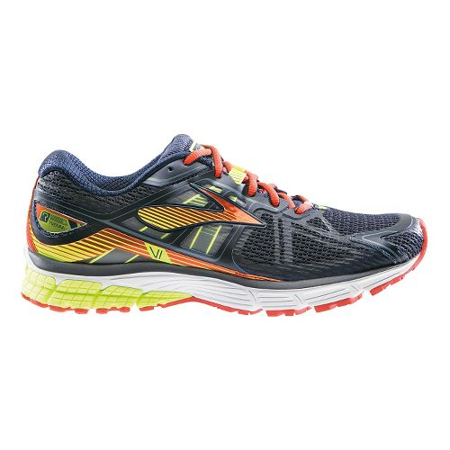 Mens Brooks Ravenna 6 Running Shoe - Silver/Red 15