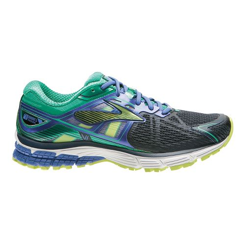 Womens Brooks Ravenna 6 Running Shoe - Dress Blues/Green 9