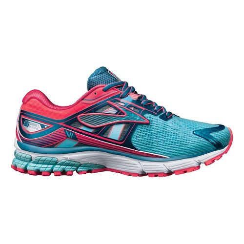 Womens Brooks Ravenna 6 Running Shoe - Blue/Pink 5