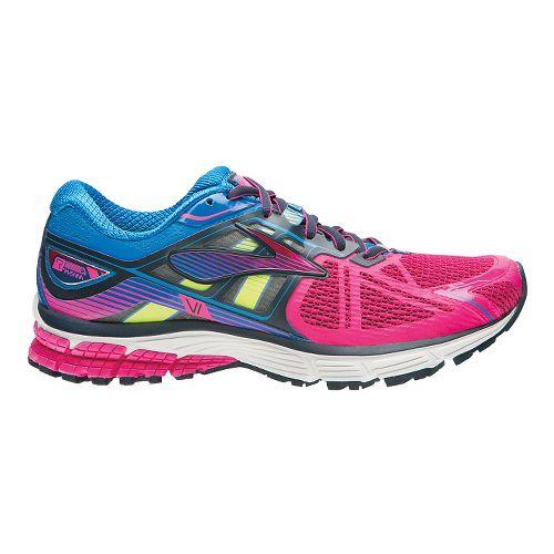 Womens Brooks Ravenna 6 Running Shoe - Silver/Berry 11.5