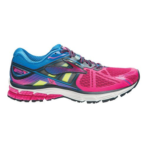 Womens Brooks Ravenna 6 Running Shoe - Silver/Berry 5.5