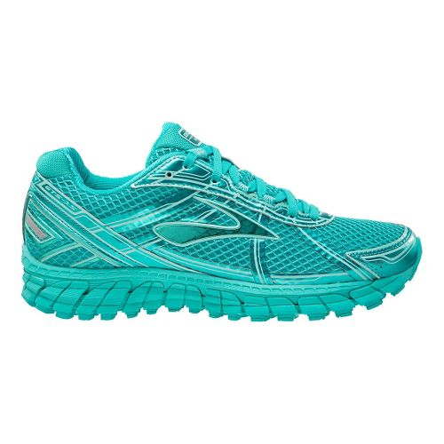 Womens Brooks Adrenaline GTS 15 Running Shoe - Teal 7