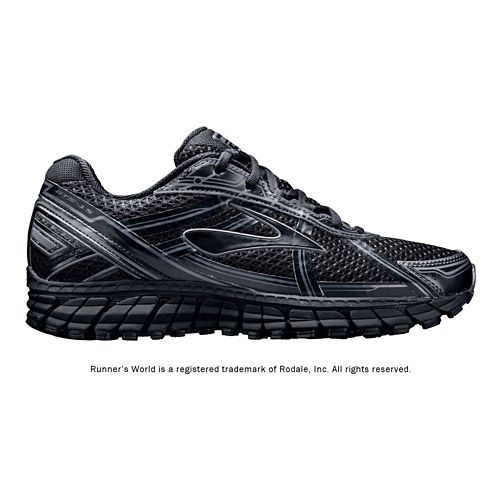 Womens Brooks Adrenaline GTS 15 Running Shoe - Black 7.5