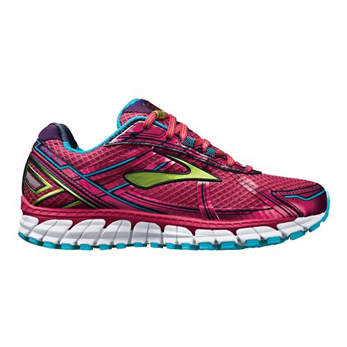 Womens Brooks Adrenaline GTS 15 Running Shoe - Pink 10.5
