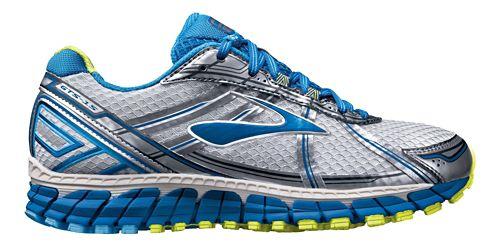 Womens Brooks Adrenaline GTS 15 Running Shoe - Silver/Blue 6.5