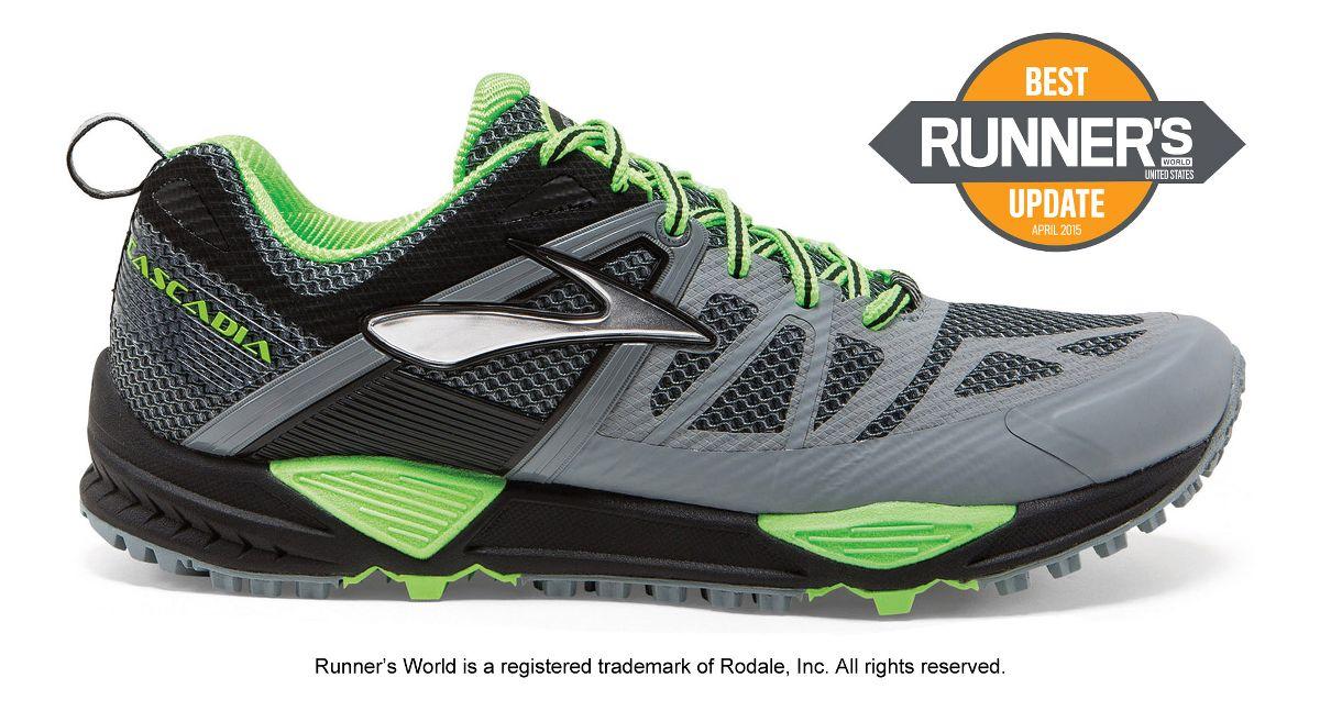 mens cascadia 10 trail running shoe at road runner sports