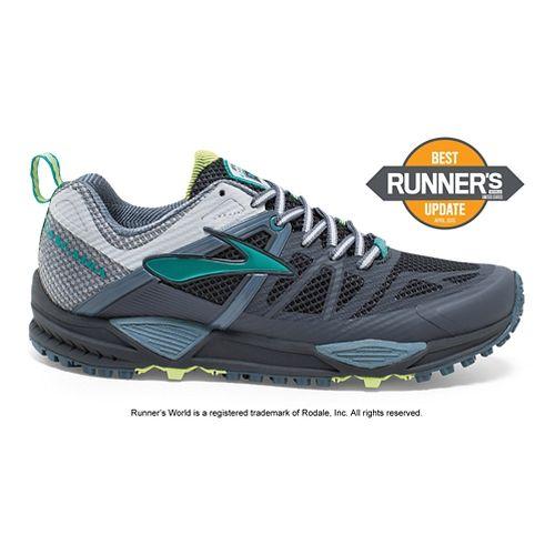 Womens Brooks Cascadia 10 Trail Running Shoe - Slate 7